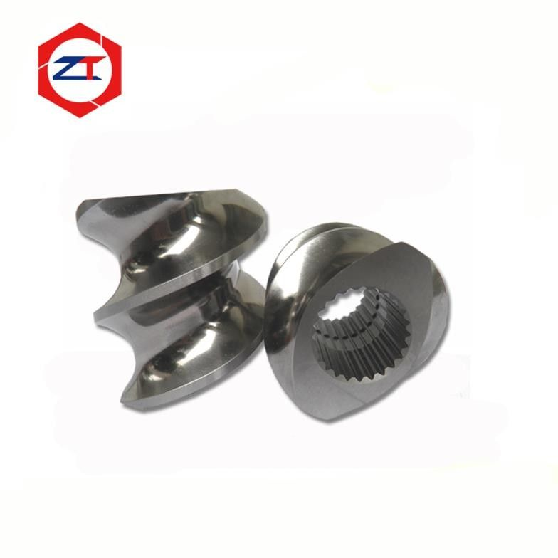 Mirror Surface Extruder Screw Elements 6542 / Tool Steel Material High Hardenability
